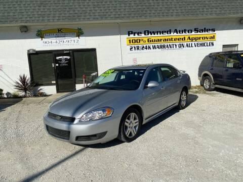 2011 Chevrolet Impala for sale at Klett Automotive Group in Saint Augustine FL