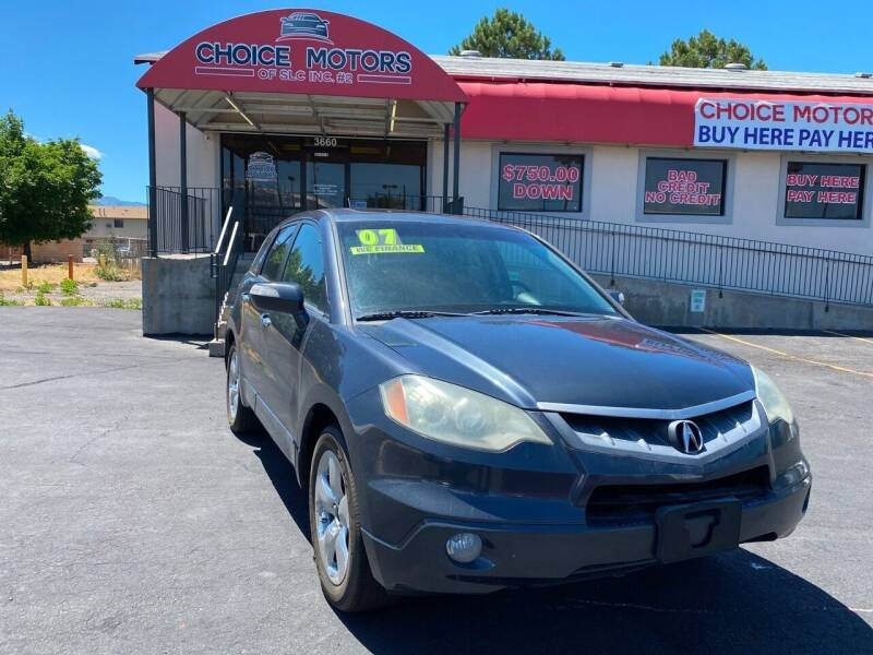 2007 Acura RDX for sale at Choice Motors of Salt Lake City in West Valley  City UT