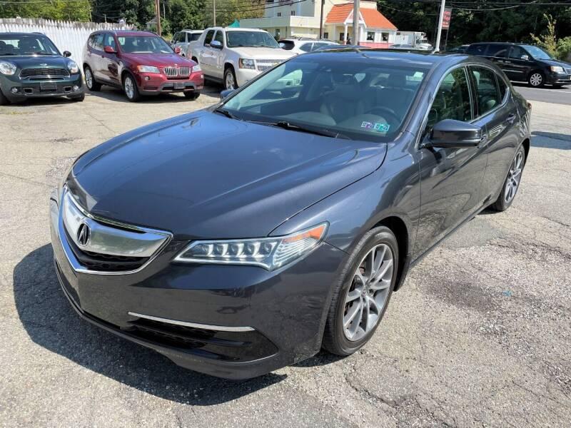 2015 Acura TLX for sale at Auto Banc in Rockaway NJ