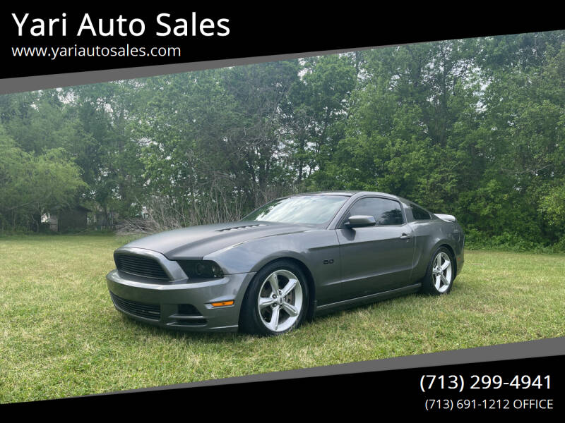 2014 Ford Mustang for sale at Yari Auto Sales in Houston TX