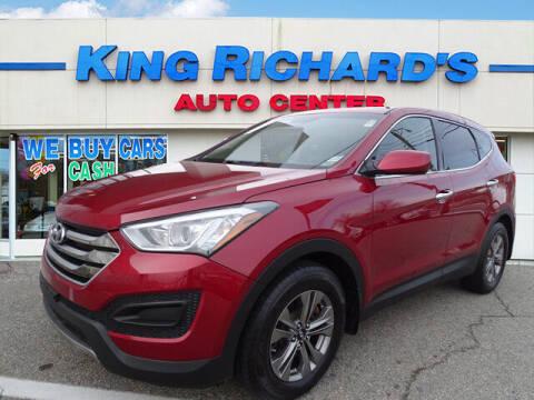 2015 Hyundai Santa Fe Sport for sale at KING RICHARDS AUTO CENTER in East Providence RI