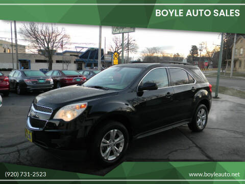 2012 Chevrolet Equinox for sale at Boyle Auto Sales in Appleton WI