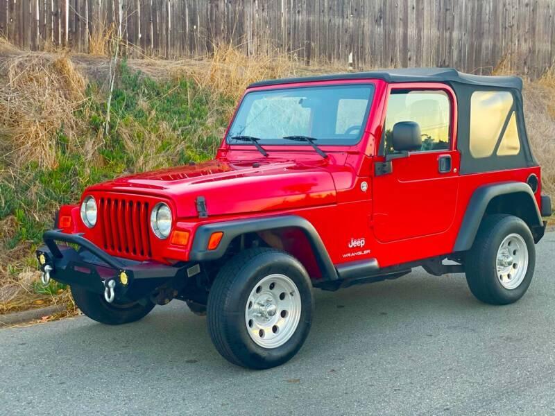 Used 2006 Jeep Wrangler For Sale In California Carsforsale Com