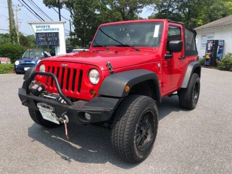 2011 Jeep Wrangler for sale at Sports & Imports in Pasadena MD