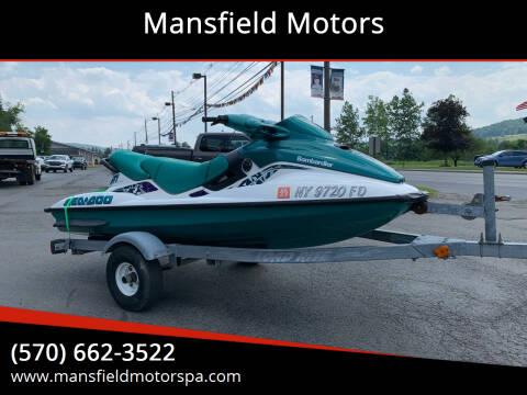 1998 Sea-Doo GTI for sale at Mansfield Motors in Mansfield PA