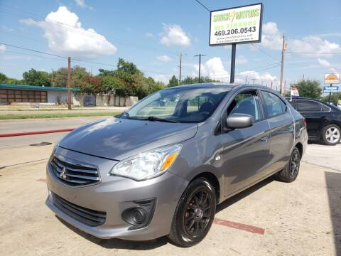 2018 Mitsubishi Mirage G4 for sale at Shock Motors in Garland TX