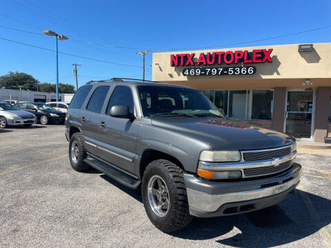 2001 Chevrolet Tahoe for sale at NTX Autoplex in Garland TX