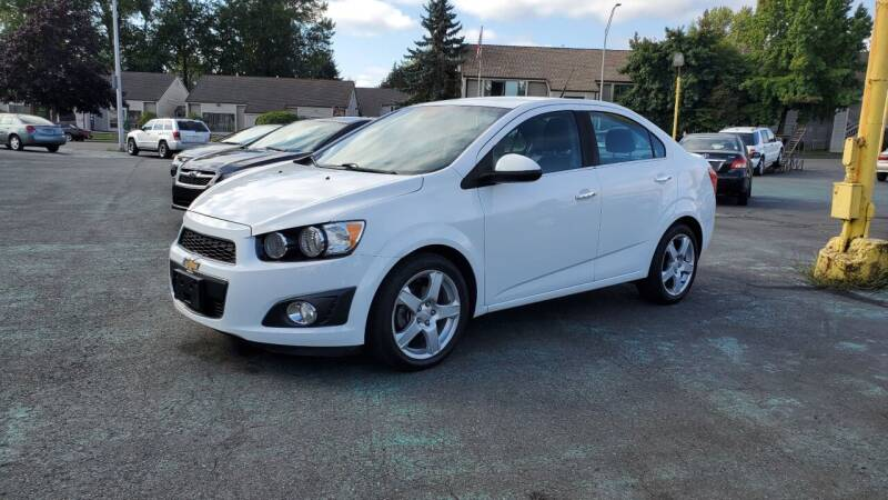2013 Chevrolet Sonic for sale at Good Guys Used Cars Llc in East Olympia WA