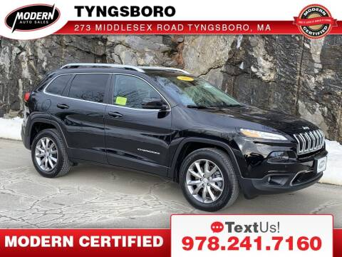 2018 Jeep Cherokee for sale at Modern Auto Sales in Tyngsboro MA
