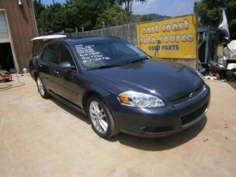 2009 Chevrolet Impala for sale at East Coast Auto Source Inc. in Bedford VA