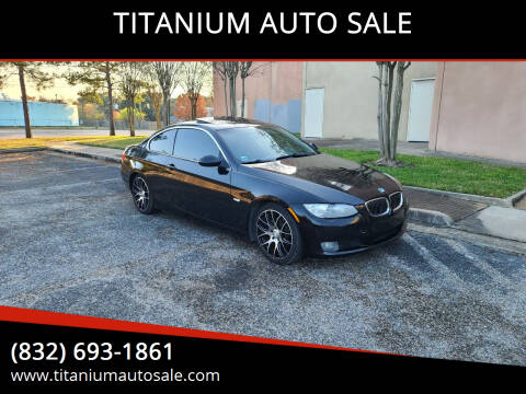 2009 BMW 3 Series for sale at TITANIUM AUTO SALE in Houston TX