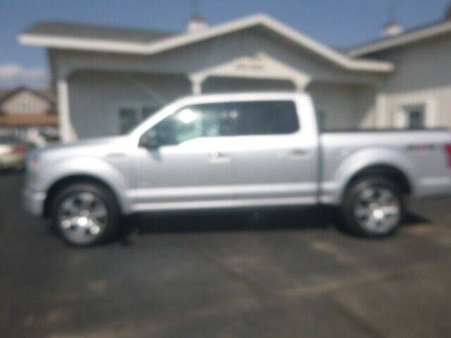 2015 Ford F-150 for sale at JIM WOESTE AUTO SALES & SVC in Long Prairie MN