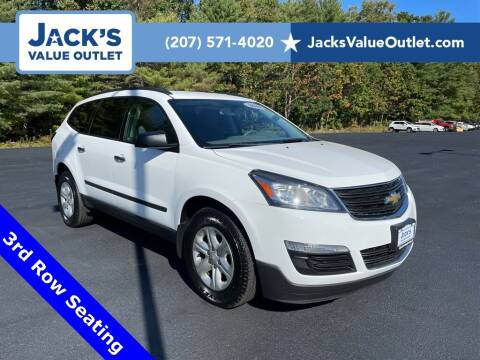 2016 Chevrolet Traverse for sale at Jack's Value Outlet in Saco ME