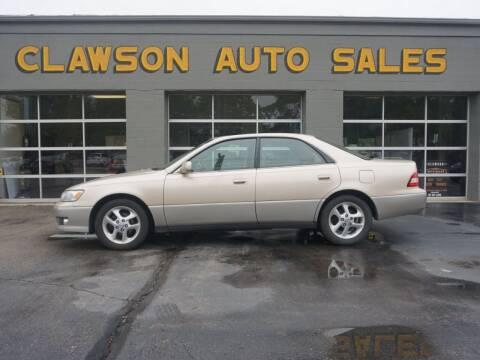 2001 Lexus ES 300 for sale at Clawson Auto Sales in Clawson MI