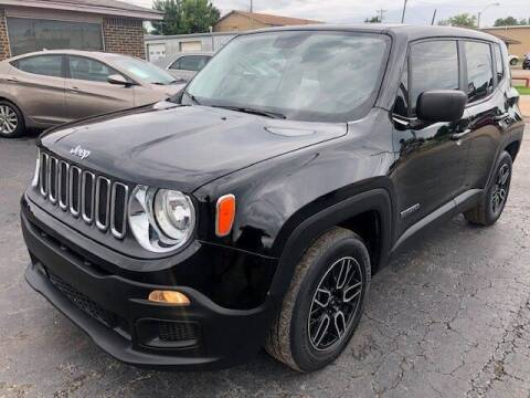 2017 Jeep Renegade for sale at Kasterke Auto Mart Inc in Shawnee OK