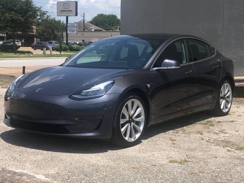 2019 Tesla Model 3 for sale at Strait Motor Cars Inc in Houston TX