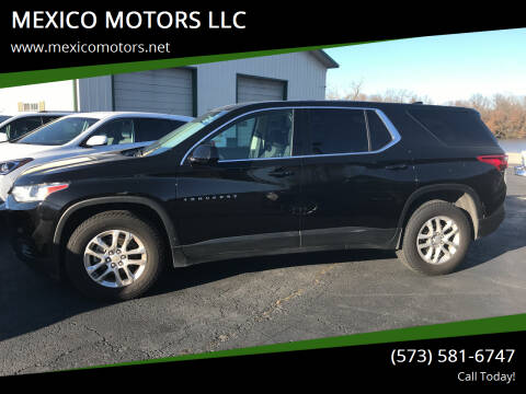 2018 Chevrolet Traverse for sale at MEXICO MOTORS LLC in Mexico MO