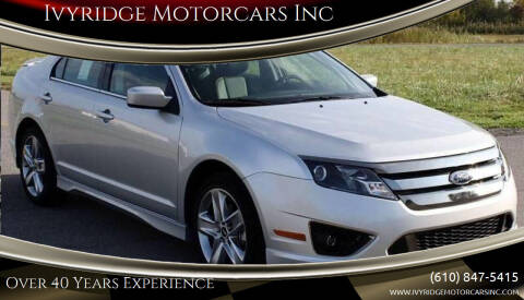 2011 Ford Fusion for sale at Ivyridge Motorcars Inc in Ottsville PA