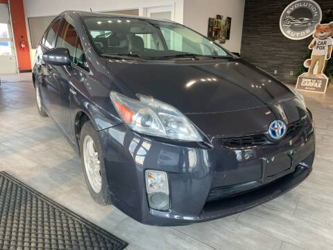 2010 Toyota Prius for sale at Evolution Autos in Whiteland IN