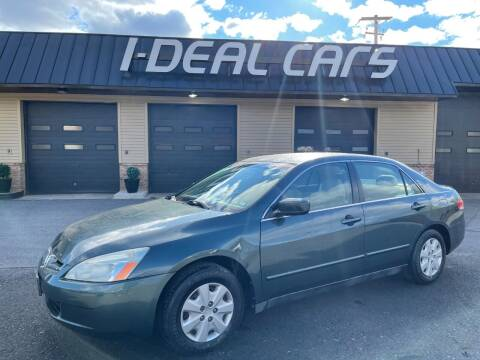 2004 Honda Accord for sale at I-Deal Cars in Harrisburg PA
