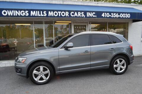 2012 Audi Q5 for sale at Owings Mills Motor Cars in Owings Mills MD