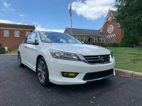 2014 Honda Accord for sale at Automax of Eden in Eden NC