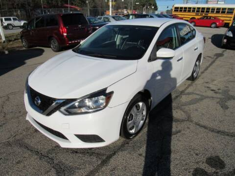 2017 Nissan Sentra for sale at King of Auto in Stone Mountain GA