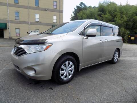 2012 Nissan Quest for sale at S.S. Motors LLC in Dallas GA