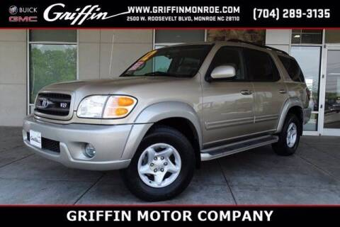 2002 Toyota Sequoia for sale at Griffin Buick GMC in Monroe NC