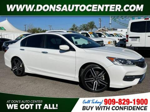2017 Honda Accord for sale at Dons Auto Center in Fontana CA