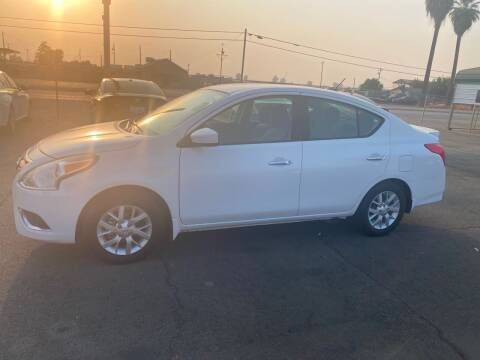 2017 Nissan Versa for sale at First Choice Auto Sales in Bakersfield CA