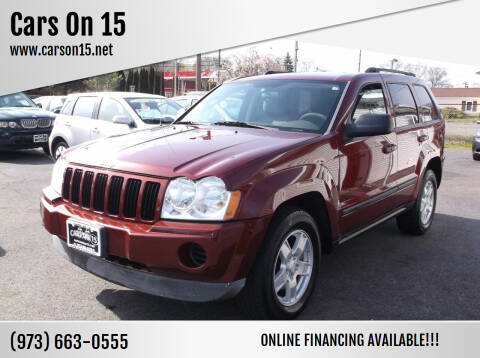 2007 Jeep Grand Cherokee for sale at Cars On 15 in Lake Hopatcong NJ