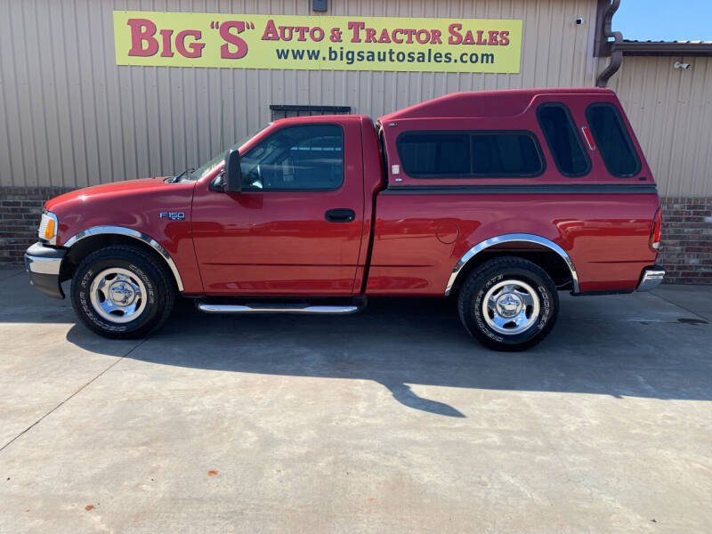 2002 Ford F-150 for sale at BIG 'S' AUTO & TRACTOR SALES in Blanchard OK
