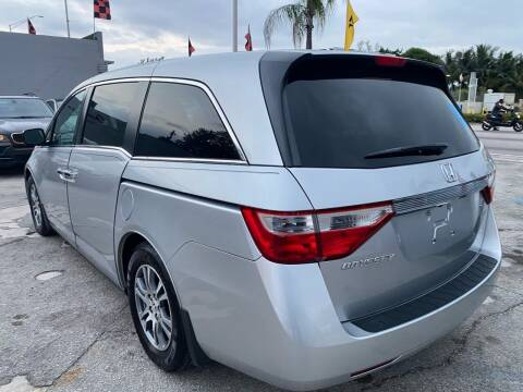 2013 Honda Odyssey for sale at America Auto Wholesale Inc in Miami FL