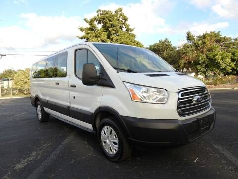 2019 Ford Transit Passenger for sale at SUPER DEAL MOTORS 441 in Hollywood FL