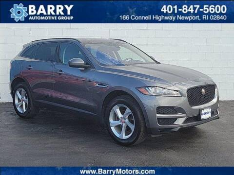 2018 Jaguar F-PACE for sale at BARRYS Auto Group Inc in Newport RI
