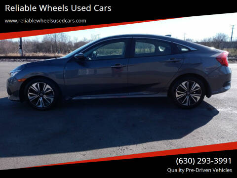 2016 Honda Civic for sale at Reliable Wheels Used Cars in West Chicago IL