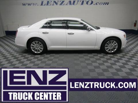 2014 Chrysler 300 for sale at LENZ TRUCK CENTER in Fond Du Lac WI