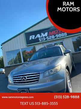 2006 Infiniti FX35 for sale at RAM MOTORS in Cincinnati OH