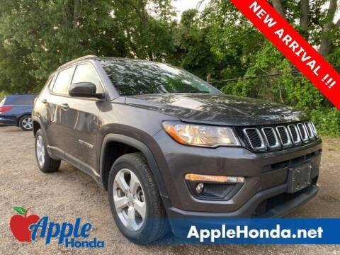 2018 Jeep Compass for sale at APPLE HONDA in Riverhead NY