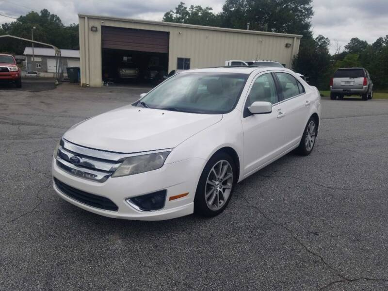 2010 Ford Fusion for sale at Brewster Used Cars in Anderson SC
