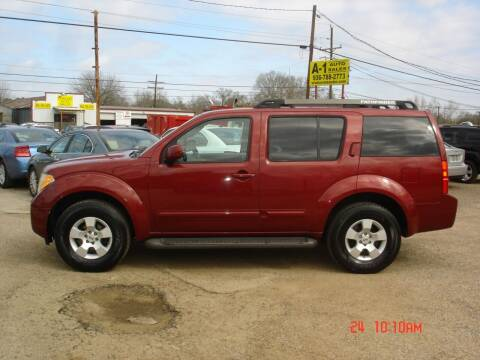 2006 Nissan Pathfinder for sale at A-1 Auto Sales in Conroe TX