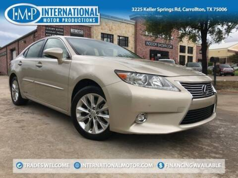 2014 Lexus ES 300h for sale at International Motor Productions in Carrollton TX
