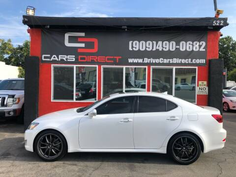 2010 Lexus IS 250 for sale at Cars Direct in Ontario CA