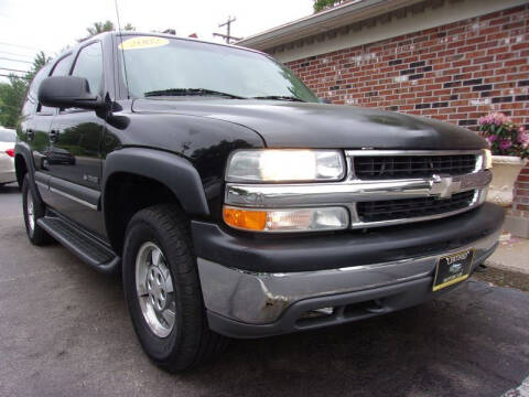 2002 Chevrolet Tahoe for sale at Certified Motorcars LLC in Franklin NH