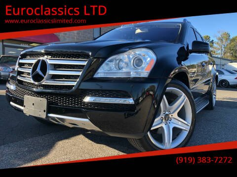 2011 Mercedes-Benz GL-Class for sale at Euroclassics LTD in Durham NC