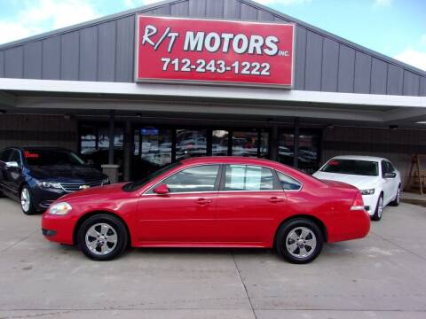 2011 Chevrolet Impala for sale at RT Motors Inc in Atlantic IA