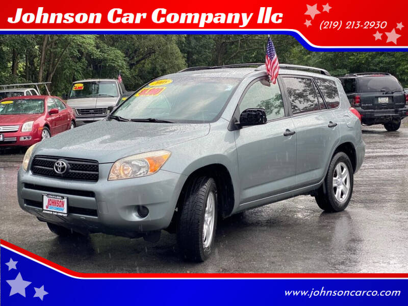 2008 Toyota RAV4 for sale at Johnson Car Company llc in Crown Point IN