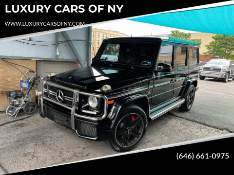 2015 Mercedes-Benz G-Class for sale at LUXURY CARS OF NY in Queens NY