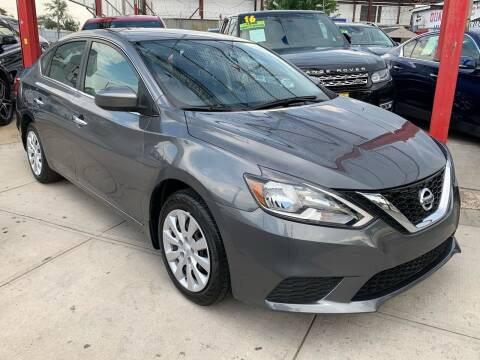 2017 Nissan Sentra for sale at LIBERTY AUTOLAND INC - LIBERTY AUTOLAND II INC in Queens Villiage NY